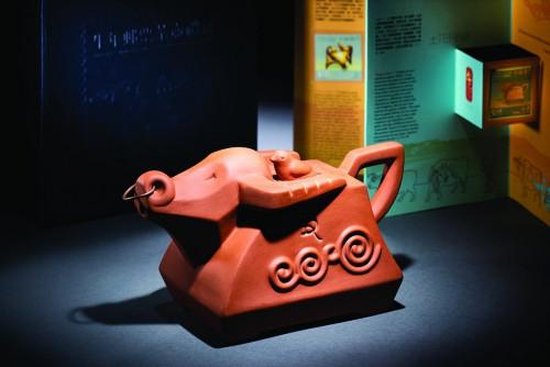 五行生肖(土牛)仿紫砂茶壺系列