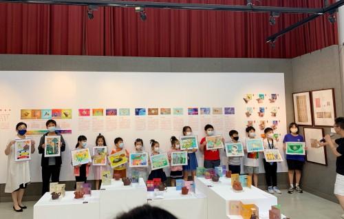 郵票設計親子工作坊圓滿舉行