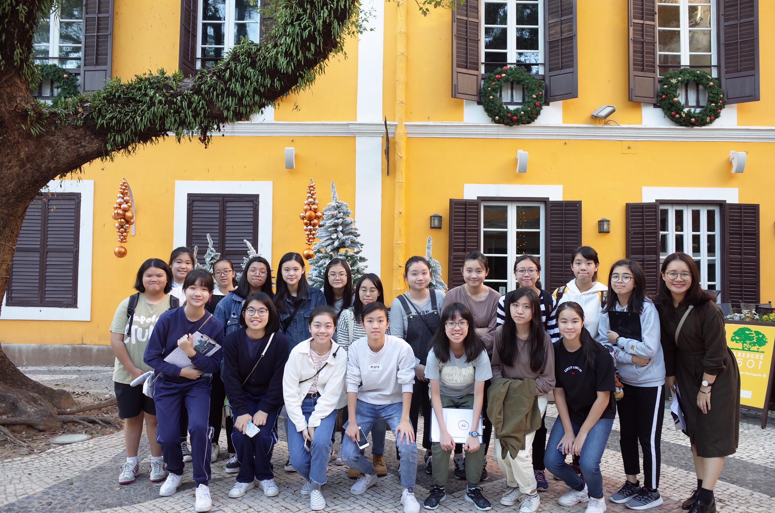 2018年度澳門歷史文化學界考察活動─嘉諾撒聖心英文中學