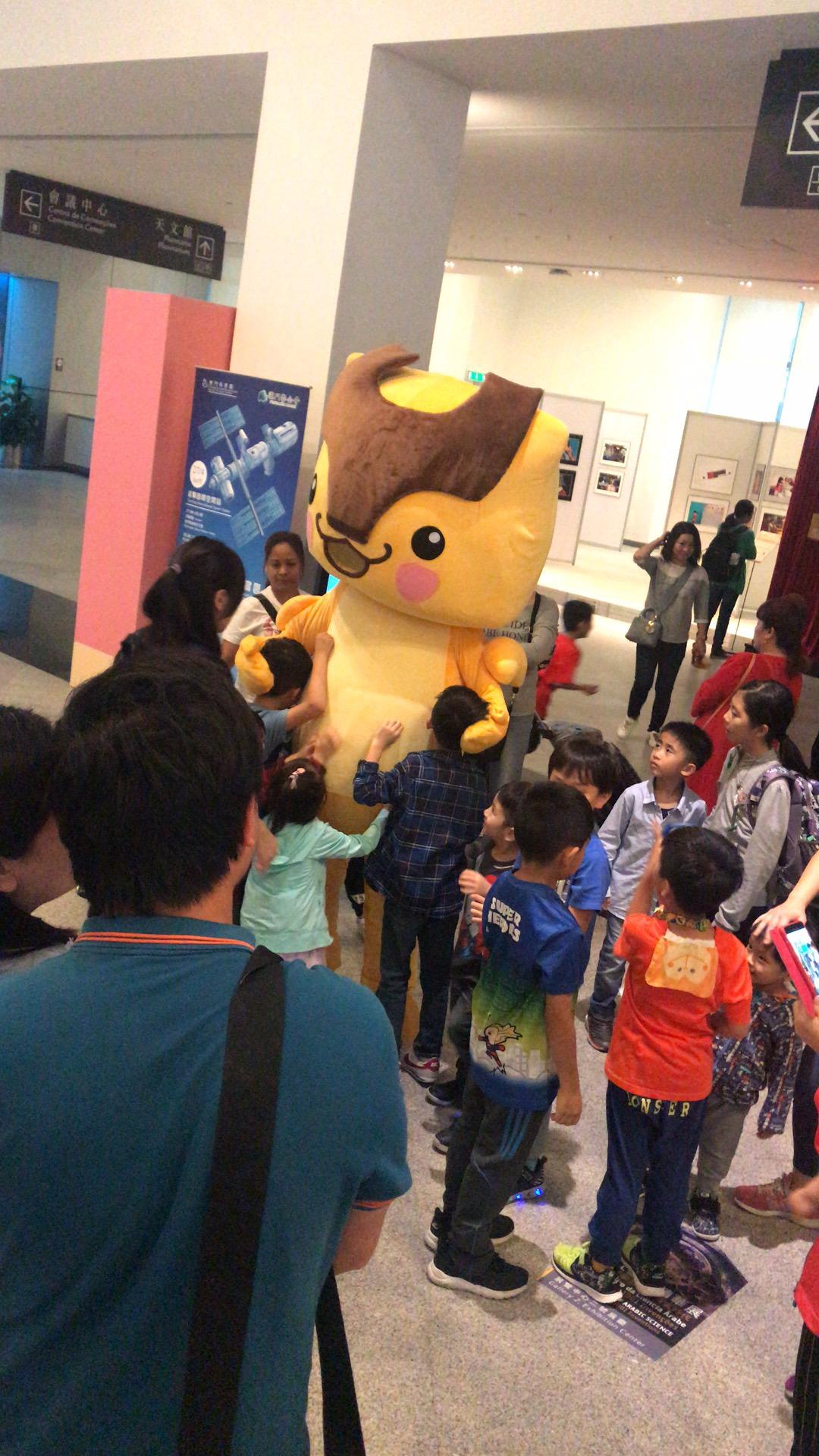 華夏小靈精X復活節科學館宣傳活動